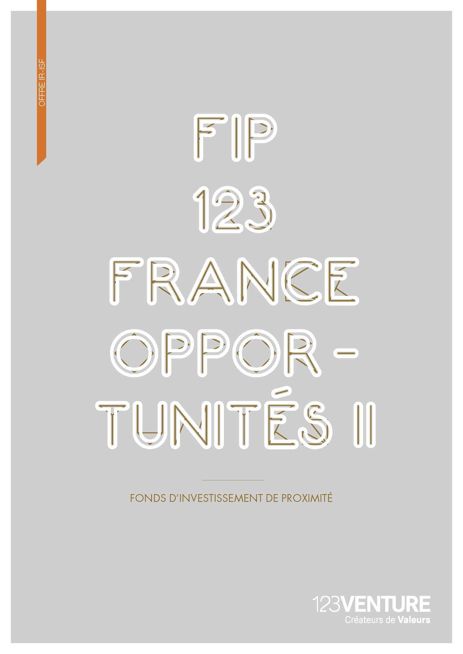 FIP 123 FRANCE OPPORTUNITES 2