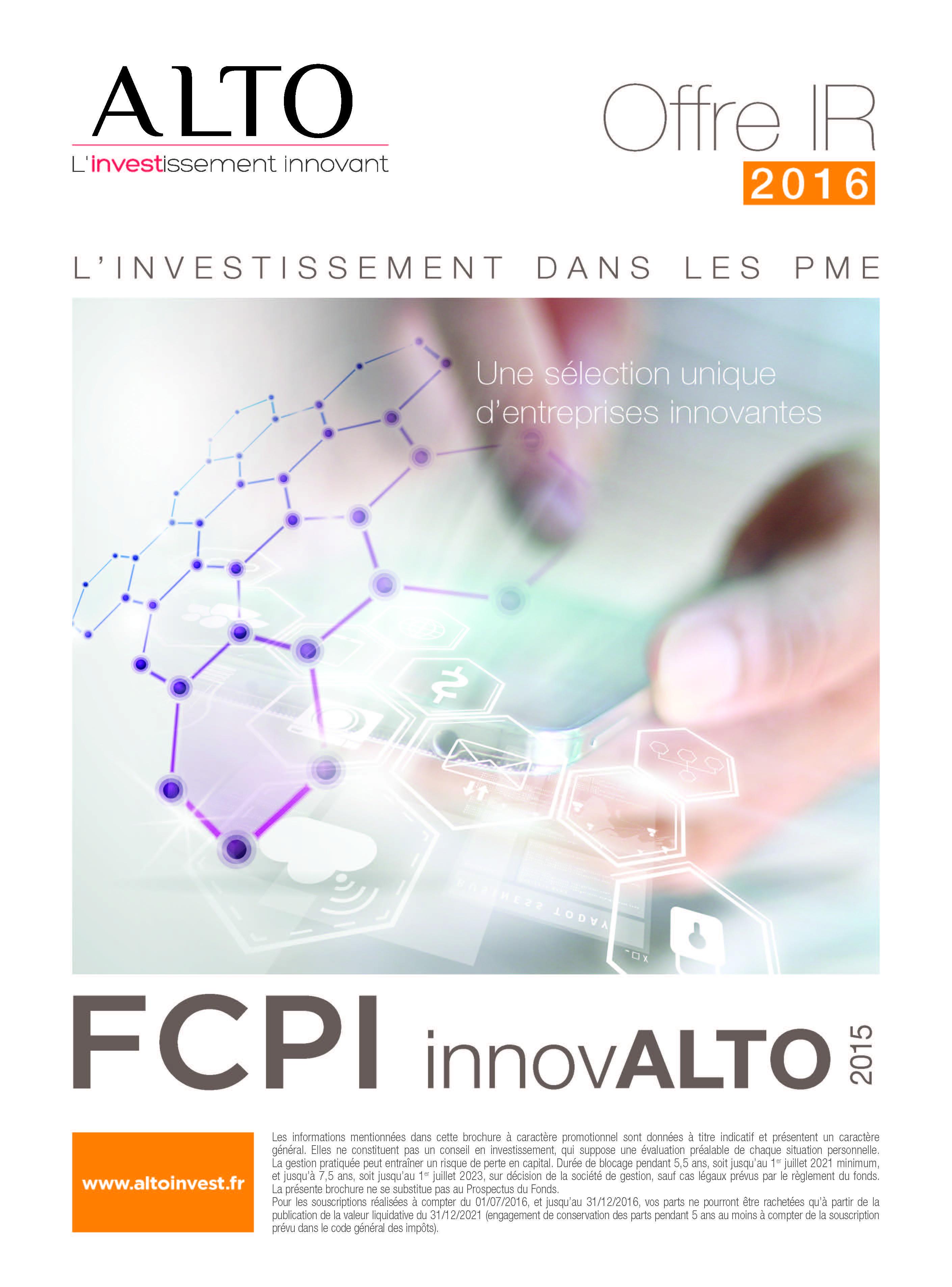 FCPI INNOVALTO 2015