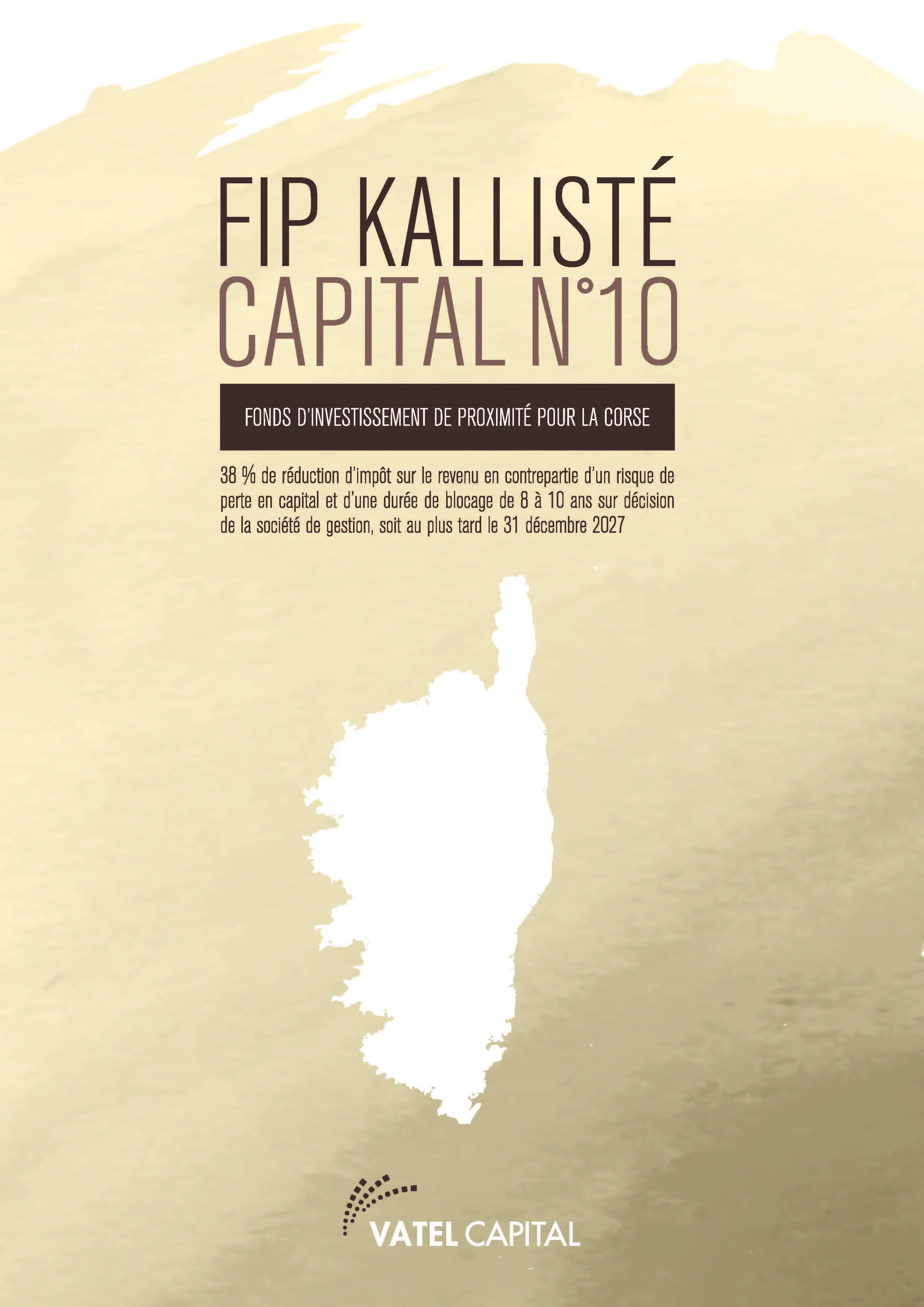 FIP KALLISTE CAPITAL N° 10